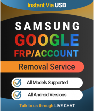 Samsung Google FRP/Account Removal
