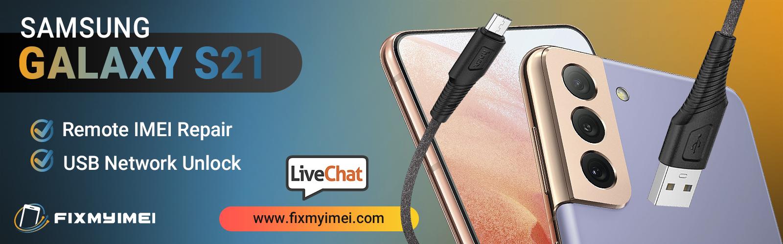 Samsung Galaxy s21 Series IMEI Repair & Network Unlock