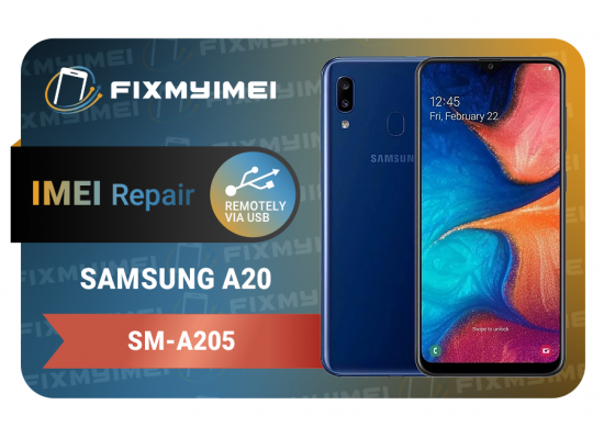 A20 A205 Samsung Instant USB Instant Blacklisted Bad IMEI Repair